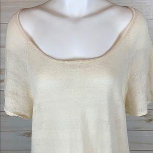 White and Warren~ Large Shirt